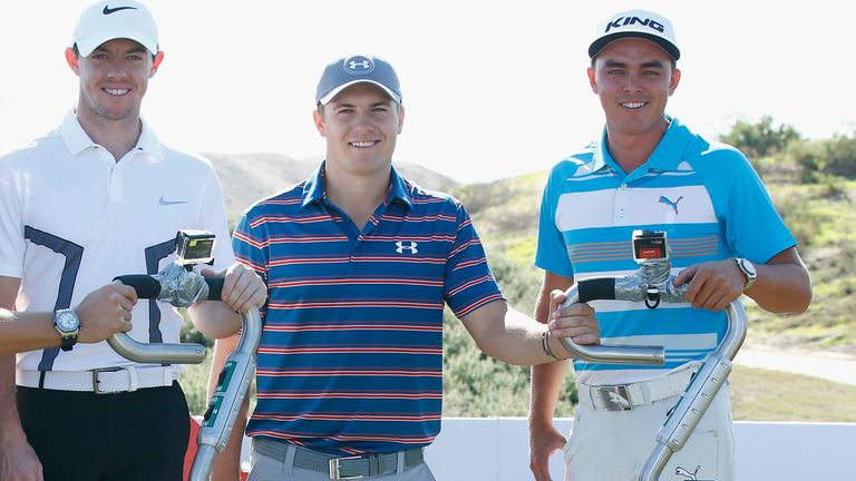 Rory McIlroy, Jordan Spieth and Rickie Fowler were the star draws in Abu Dhabi