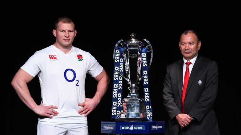 England captain Dylan Hartley and head coach Eddie Jones face a tough opener