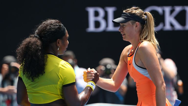 Serena Williams and Maria Sharapova will meet in the first round of the US Open
