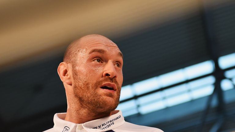 Is Tyson Fury planning another eye-catching ringwalk?