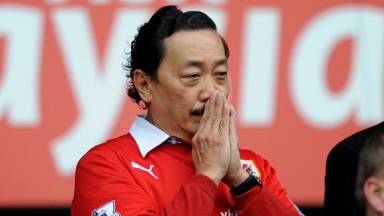 Vincent Tan has written off part of Cardiff's debt