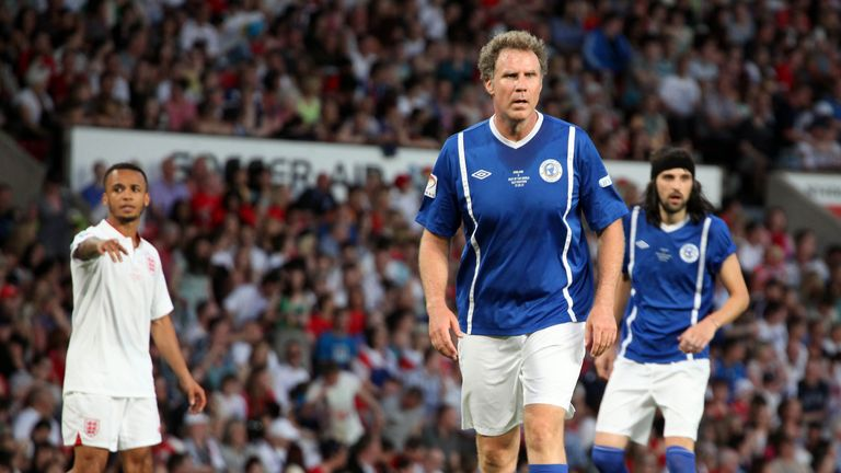 Ferrell has pedigree, he played at Old Trafford in the 2012 Soccer Aid match