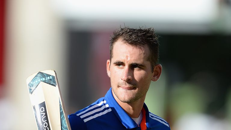 Alex Hales was 'outstanding' for England, says Knight