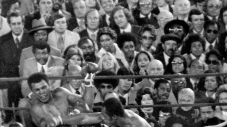 Muhammad Ali has his jaw broken by nemesis Ken Norton