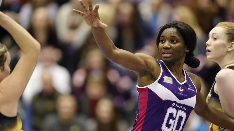 Ama Agbeze will lead Loughborough Lightning's hopes of ending the season on a high