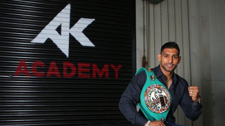 Amir Khan faces a daunting task in Vegas in May