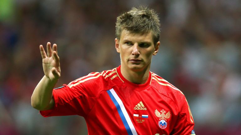 Arshavin captained Russia at Euro 2012 in Poland and Ukraine