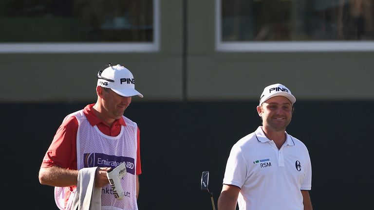 Andy Sullivan has had 53 consecutive holes without dropping a shot this week