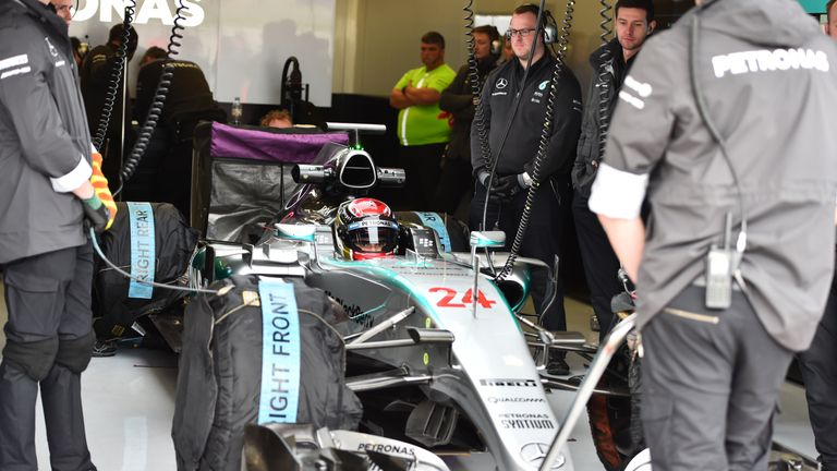 Wehrlein has tested for Mercedes