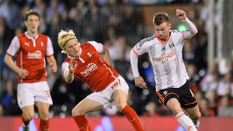 Ryan Tunnicliffe has struggled with injury at Fulham