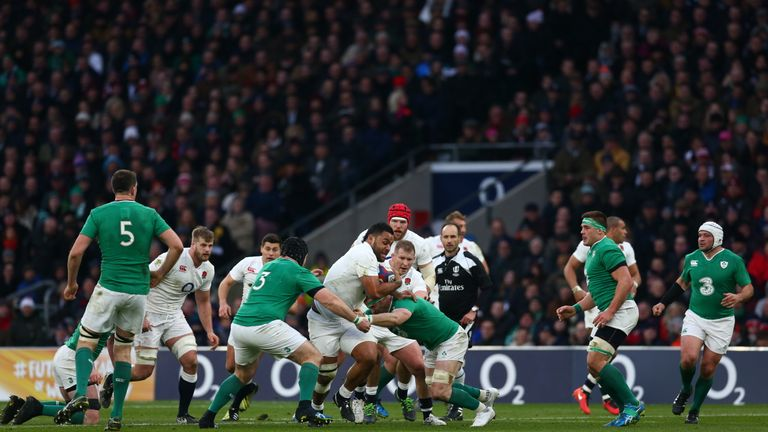 Billy Vunipola was among England's best performers