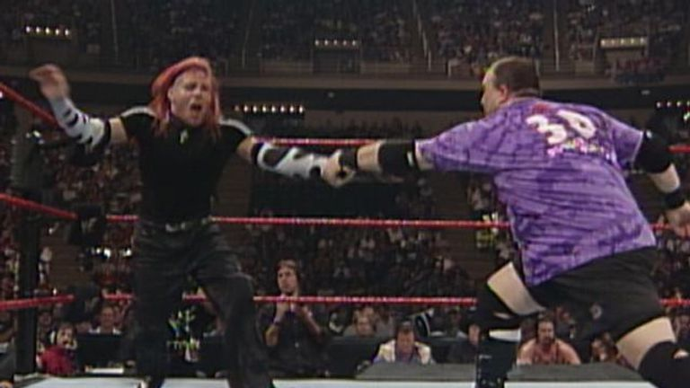 The Dudleyz enjoyed an entertaining rivalry with the Hardyz in the late-90s