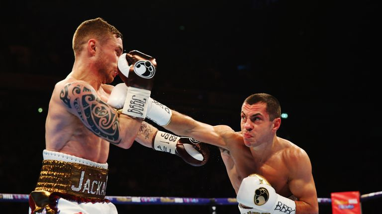 Quigg came into the fight after the halfway stage