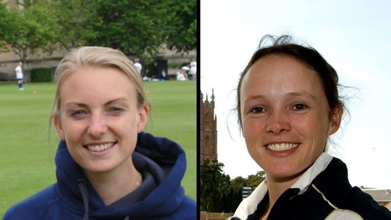 Lisa Pagett (L) and Caroline Foster (R) have been revealed as the new General Manager and Head Coach of the South West women's cricket super league team