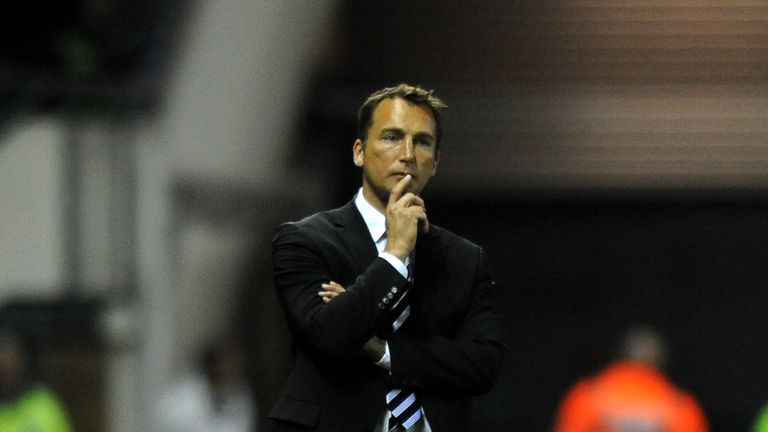 Darren Wassall has taken charge at Derby after Paul Clement's sacking
