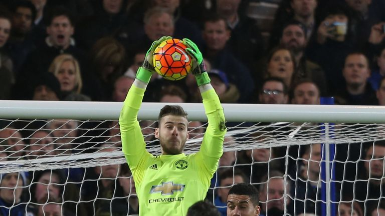 De Gea has since signed a new contract at Manchester United