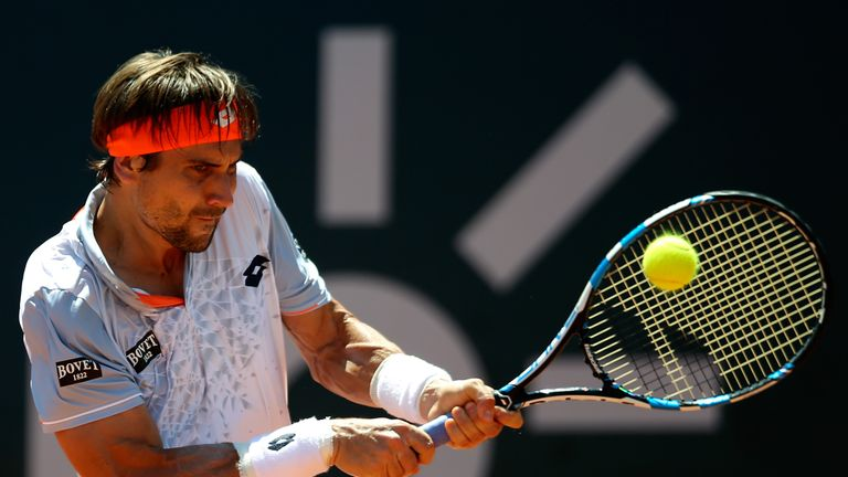 David Ferrer was beaten in straight sets by Andreas Seppi