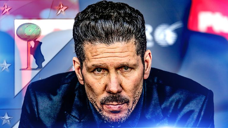 Diego Simeone has been the architect behind Atletico's unique approach
