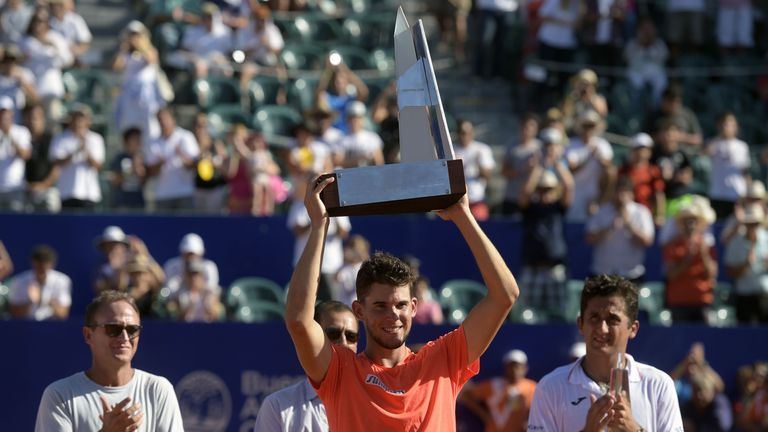 Dominic Thiem will target another title in Rio after winning the Argentina Open