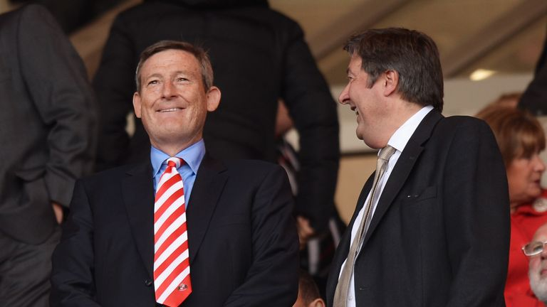 Sunderland owner Ellis Short (left) is delighted by the appointment of Bain