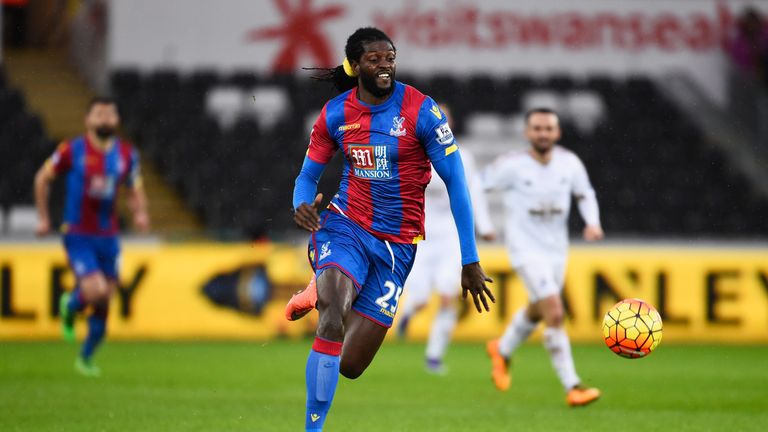Emmanuel Adebayor's short stint with Crystal Palace is over
