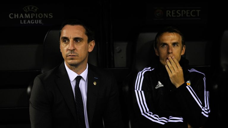 Neville suffered his fifth defeat since taking over as Valencia boss