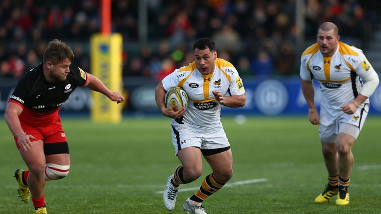 George Smith kept the Saracens defence guessing at Allianz Park