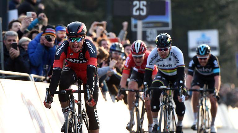 Greg Van Avermaet comfortably out-sprinted Peter Sagan