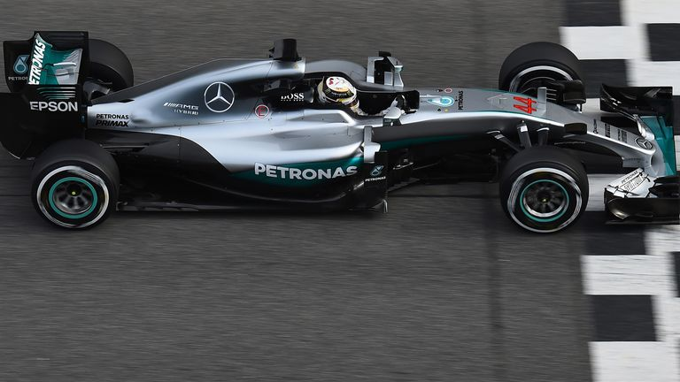 After over 150 laps on Monday, Hamilton racked up 88 more in four hours on Wednesday