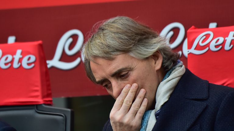 Inter Milan have dropped to fourth in Serie A