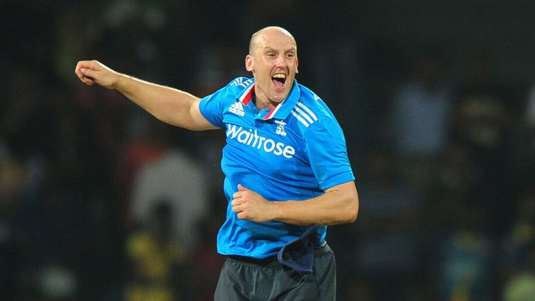 Former Kent and England spinner James Tredwell went 'off-piste' with his fashion choices