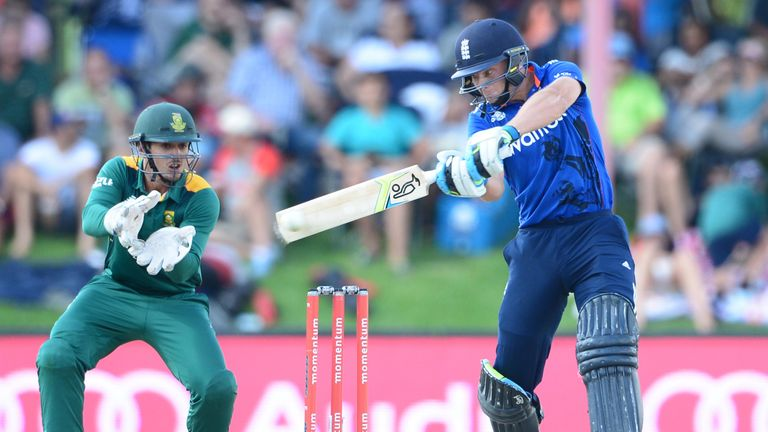 Buttler on his way to another hundred for England against South Africa in Bloemfontein