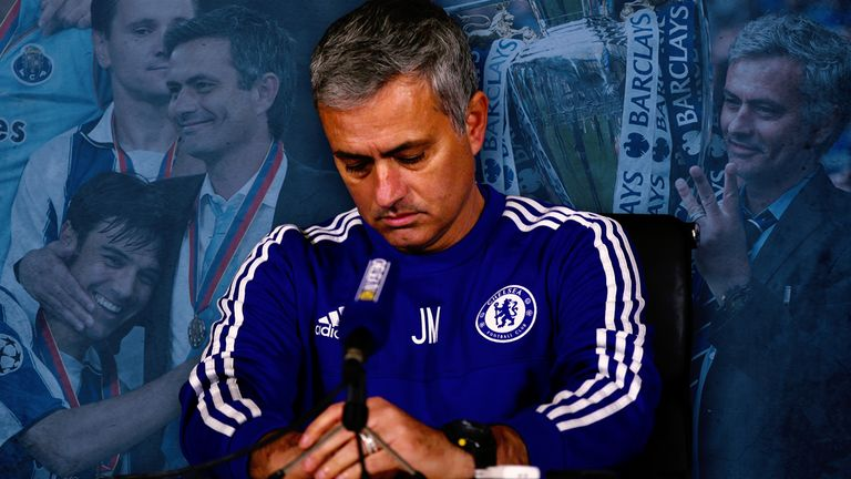 Jose admits final months of Chelsea stint was a 'disaster'