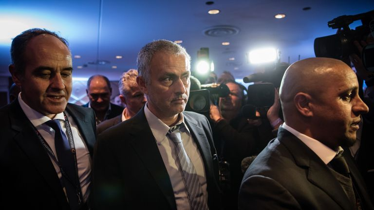 Jose Mourinho has been strongly linked with a move to Manchester United