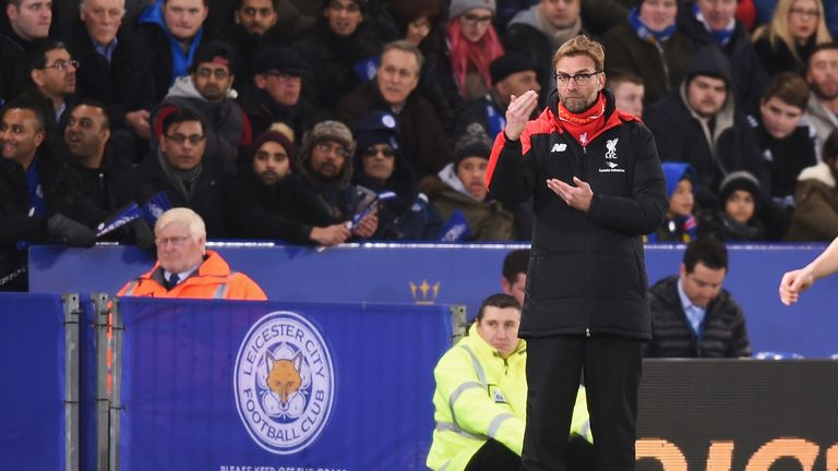 Jurgen Klopp's side have won just once in five league games