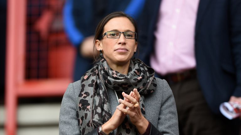 Katrien Meire remains in her position as Charlton chief executive