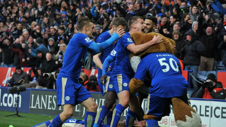Leicester find themselves five points clear as of Saturday night