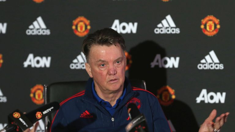 Louis Van Gaal Hoping For Momentum At Manchester United