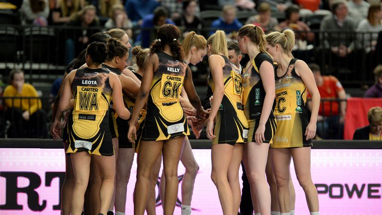 Manchester Thunder finished top of the Superleague table