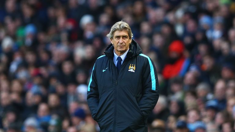 Manuel Pellegrini set to name a second-string Manchester City XI at Stamford Bridge on Sunday