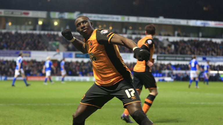 Diame starred for Hull in the Sky Bet Championship last season