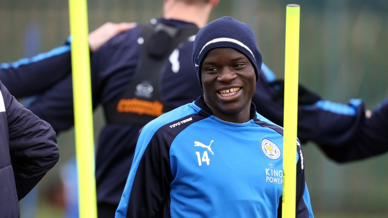 Kante joined Leicester for £5.6m from Ligue 1 side Caen last summer
