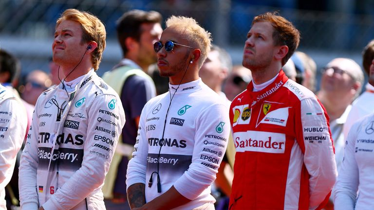 Will Nico Rosberg, Lewis Hamilton and Sebastian Vettel all be in the thick of this season's title fight?
