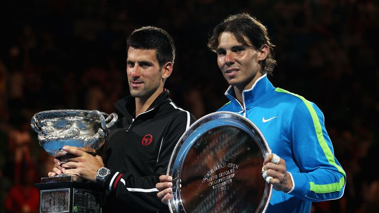 Djokovic and Nadal played out a classic in Melbourne seven years ago