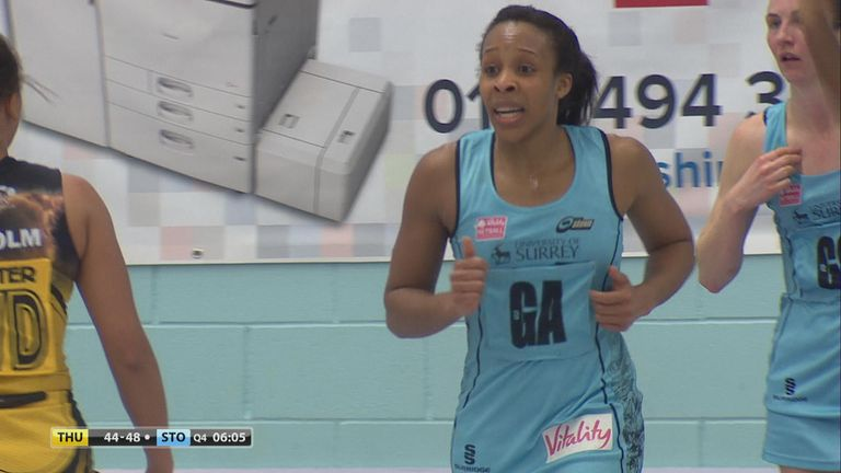 Pamela Cookey helped Surrey to overcome a two-goal deficit at half-time