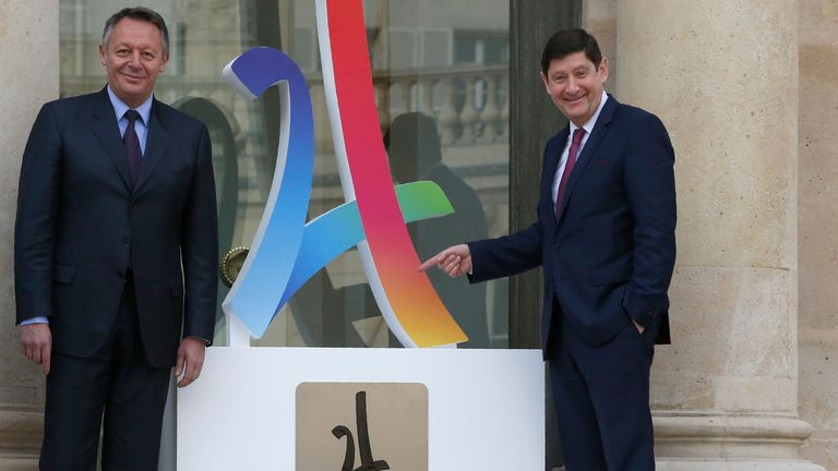 Paris team unveil logo for 2024 Olympics