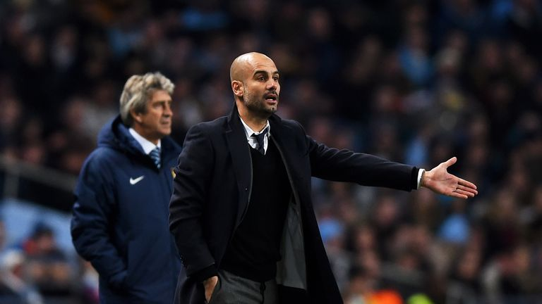 Pep Guardiola will replace Manuel Pellegrini at the end of the season