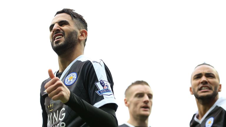 Mahrez put Leicester 2-0 up with a fine solo goal
