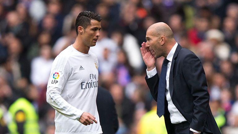 Zinedine believe the boos will only motivate Ronaldo