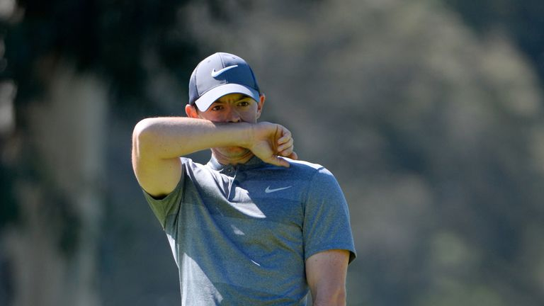 """McIlroy admitted to a number of """"silly errors"""" as he missed the cut at Riviera"""